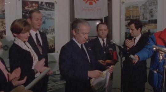 OK BIH - Otvaranje Olimpijskog muzeja 1984. godine