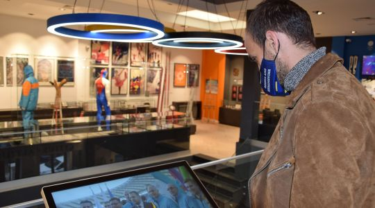 OK BIH - Amel Tuka posjetio Olimpijski muzej u Sarajevu