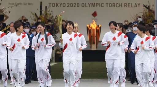 Follow the Olympic Torch Relay to Tokyo - Osaka - Day 1