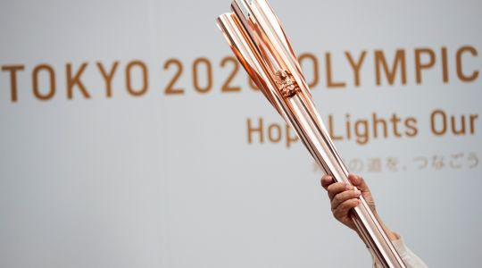 Follow the Olympic Torch Relay to Tokyo - Hokkaido - Day 1