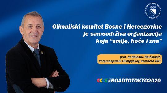 OK BiH | Road to Tokyo 2020 Podcast | Epizoda 7 | prof. dr Milanko Mučibabić, potpredsjednik OK BiH